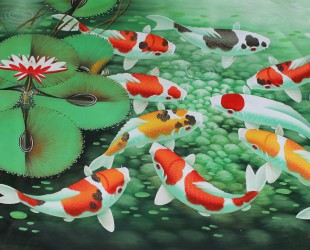 koi-fish-painting-wallpaper-4